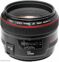 Canon 50mm f1.2 EF (or FD)