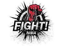 MMA Boxing Gloves + Shin Guards + Strike Pad