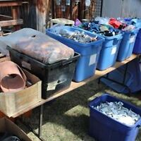 LEATHER - Garage Sale - 800+ Pounds of Assorted Leather