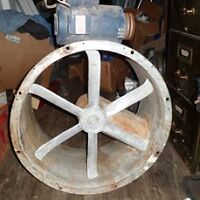 BINKS PAINT BOOTH FAN AND MOTOR
