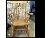 Rocking Chair - Large Size - Solid Pine - Immaculate Condition - No marks