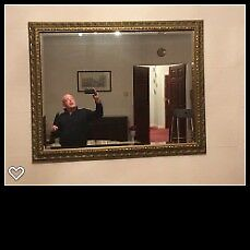 Wall Mirror - Large Ornate Wall Mirror - Immaculate Condition