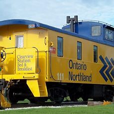 GREAT CHRISTMAS GIFT----Birthday/Anniversary--Stay in a Caboose!