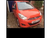 Hyundai i10 Classic 5 door Hatchback 2013, immaculate only 9,100 miles 1 owner FSH