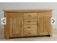 Oakland Furniture, sideboard and dining table, no chairs