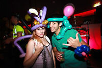 Professional balloon twister/artist for partys and events