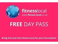 Free Day Pass at Fitness Local: Lowestoft before 1st May!