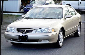 Only 20,000 Kms! 2001 Mazda 626