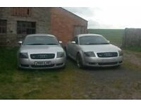 2 X Audi TT Quattro... 180 & 225 ,, v reg and 02 reg,, selling together not breaking, possible swap