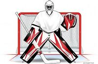 Competitive Goalie Available for Play