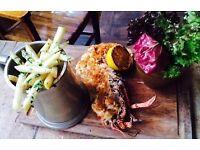 Sous & Chef de Partie. Independent Gastro, CHELSEA. Rosette Dining. 30K.
