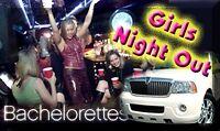 Limousine for Bachelor or Bachelorette parties..