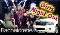 Limousine for Bachelor or Bachelorette parties..