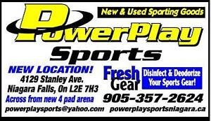 POWER PLAY SPORTS New & Used Hockey Equipment and skates