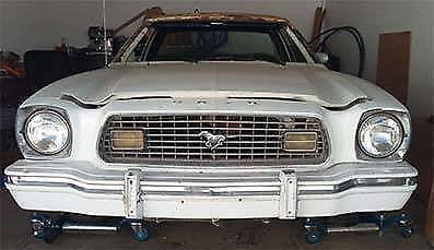 1974 Ford Mustang II FASTBACK GHIA Project car. NEW PRICE! St Lucia Brisbane South West Preview