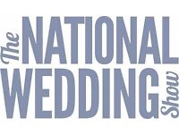THE NATIONAL WEDDING SHOW......2 X Tickets worth £40