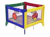 Graco activity playpen/travel cot
