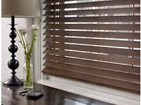 Ikea wooden venison blinds 121cm wide