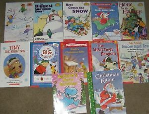 Snow Theme Books for the Level 1 & Level 2 Reader
