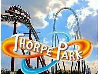 Thorpe Park Tickets - 2 Adult - 27/07/2018