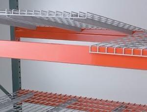 Pallet Rack Wire Mesh Decking: USED and NEW