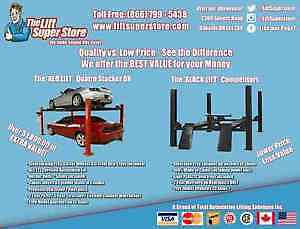 Car Lift Parking Stacker with Accessories - SUMMER SALE