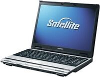 REAL CLEAN TOSHIBA A110 LAPTOP WIN7