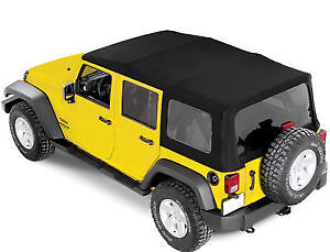 2010 JEEP WRANGLER UNLIMITED OEM SOFT TOP