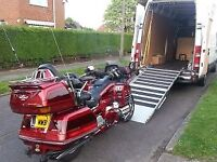 Motorcycle collection & delivery service Uk wide