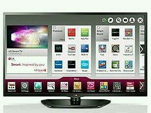 "LG 42"" LED smart tv wifi built USB MEDIA PLAYER HD FREEVIEW full hd 1080p ."