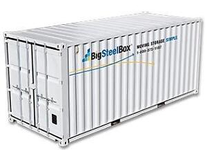 BigSteelBox NOW OPEN in Fort McMurray!  Local Delivery Rates on storage containers (sea cans)