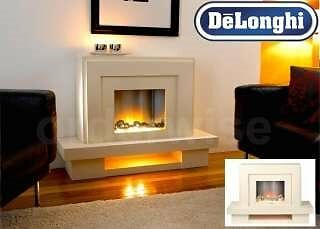 Delonghi Venice Flueless Fireplace - Amazon RRP £ 599+