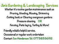 Jon's Gardening & Landscaping Services