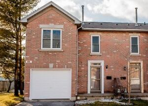 Executive 3 Bedroom End Unit Townhome for Rent in Woodstock