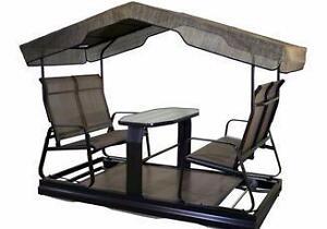 Meubles terrasse jardin dans grand montr al maison for Balancoire 4 places costco