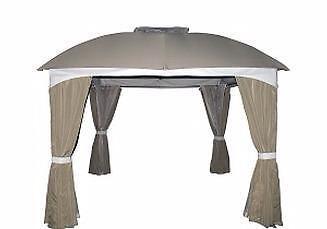 Moustiquaires pour gazebo l gance 10x10 patio garden for Centre liquidation meuble longueuil