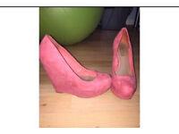 Red herring Debenhams wedge heels