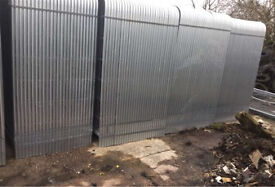 🔩 Heras Style *New* Security Metal Fence Panels * 3.45 X 2M *