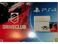 Banned Playstation 4 w/Box Can Play Offline