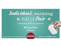 Costa Coffee is recruiting for Baristas in Watford!