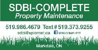 PROPERTY Maintenance-MARKDALE and immediate AREA