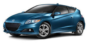 The Honda CR-Z combines effiency, performance and sporty looks.