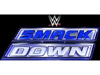 WWE SMACKDOWN Live at Manchester Arena 2 Tickets