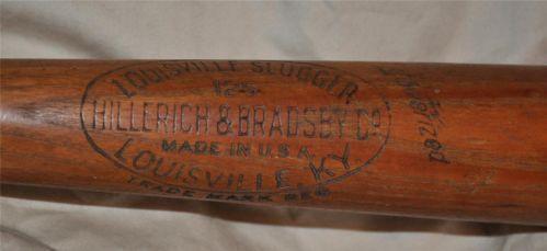 1940 Baseball Bat Ebay