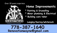 Handyman / care taker