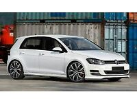 VW GOLF MK7 Accessory Full Body Kit-Professionally finished in White