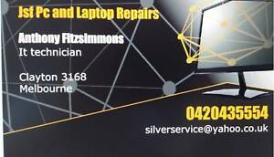 Pc, Laptop and Mac repairs OPEN TILL LATE Clayton Monash Area Preview