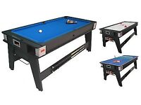 Pool/air hockey/ table tennis table