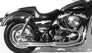 Thunderheader or other 2-1 exhaust to fit Harley FXR Evo