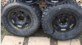 Off road wheels/tyres